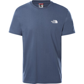 The North Face Simple Dome Camiseta Manga Corta Hombre, vintage indigo